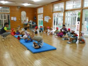 体操教室(太陽スポーツクラブ)